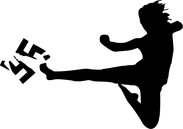 fascism-clipart-free-vector-kick-fascism_100946_kick_fascism
